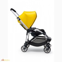 Bugaboo Bee 3 Complete In Bright Yellow Includes Black Chassis, Seat And Canopy