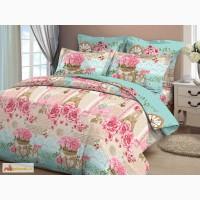 Купить постельную ткань бязь в розницу Французский шик