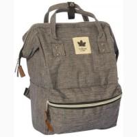 Стильная текстильная сумка-рюкзак
