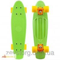 Скейтборд/скейт Penny Board зеленый (Пенни борд): 6 цветов (лонгборд)