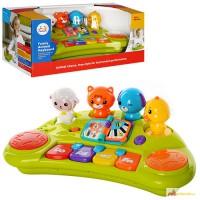 Развивающая игрушка «Пианино со зверятами» 2103A
