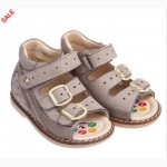 Распродажа: Ортопедические сандалики Mimy для мальчиков по супер цене 18-20 рр