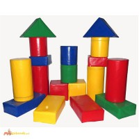 Детский модульный конструктор Строитель 4