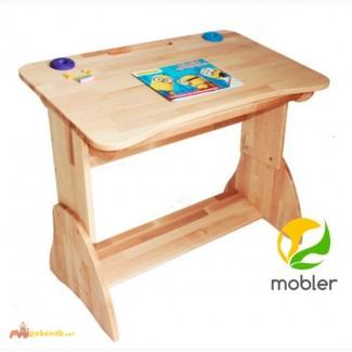 Детская парта для школьника Mobler с ящиком, 90 см