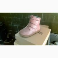 Кожаная ботинки фирмы Bisgaard дания натуральные материалы