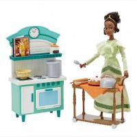 Принцесса Тиана с кухней из м/ф Принцесса-Лягушка