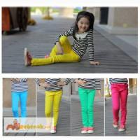Легкие летние брюки на девочку. Яркие и модные
