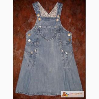 Сшить джинсовый сарафан для девочки 2 года 100