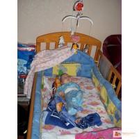Фото как украсить детскую кроватку для новорожденных