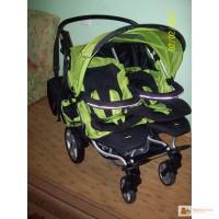 Продам дитячу коляску для двійні X-LANDER у відмінному стані