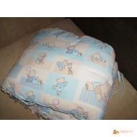 Защита на четыре стороны для детской кроватки 120 х 60 см