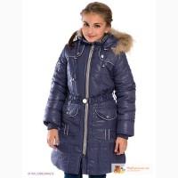 Baby Line Z21 пальто на флисе темно-синее размер 128 до 158