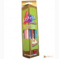 9400-12СВ Карандаши цветные MARCO Grip Rite Jambo 12 цв. , треугольные, с точилкой