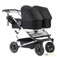 Mountain Buggy Duet siblings Cart + 2 Tote Bag Carrycot Plus