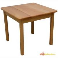 Детский столик из дерева БУК (без стульчика)