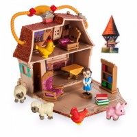 Мини набор дисней аниматор кукла Белль в детстве с домиком