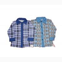 Рубашка детская теплая байка хлопковая