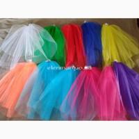 Свадебная, цветная фата, для девичника, вечеринки