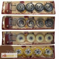 Колеса для роликов (роликовых коньков) 76мм: мягкий PU, ключи в комплекте