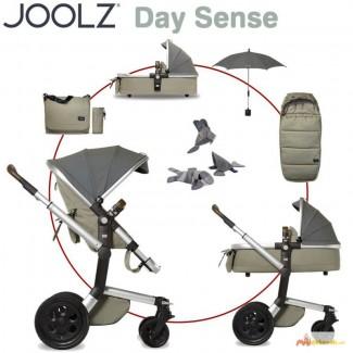 Joolz Day Quadro complete set including tub, footmuff, DENIM - 2015