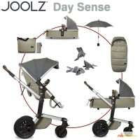 Joolz Day Quadro complete set including tub, footmuff, DENIM - 2015