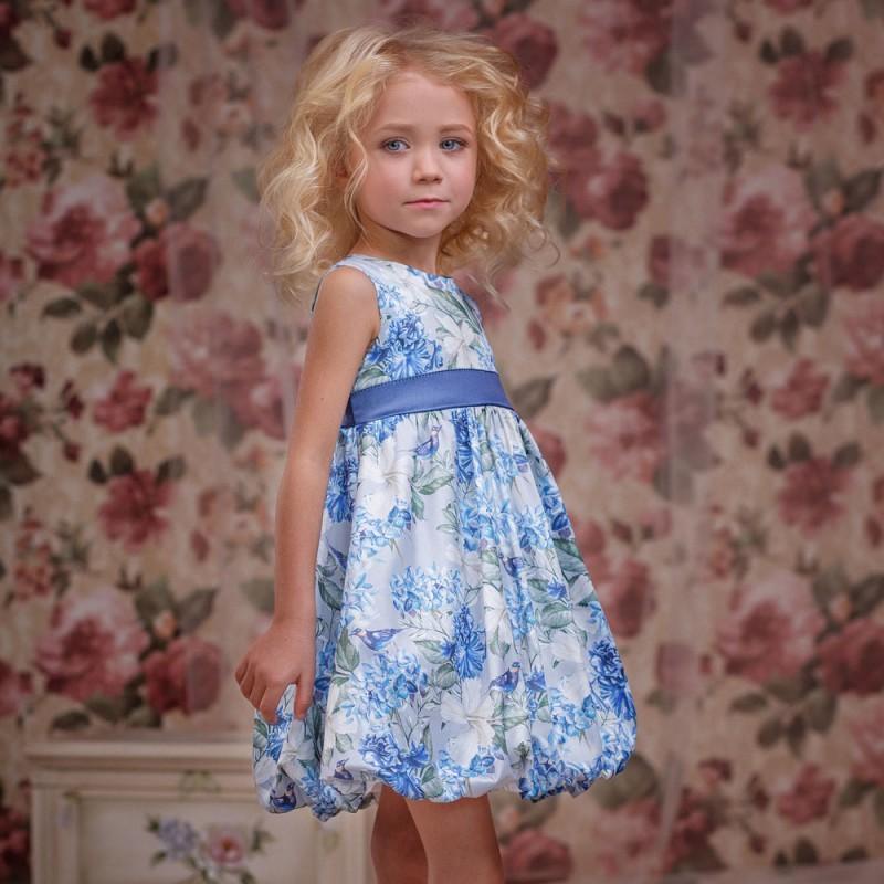 Фото 4. Нарядное платье для девочки Цветочки