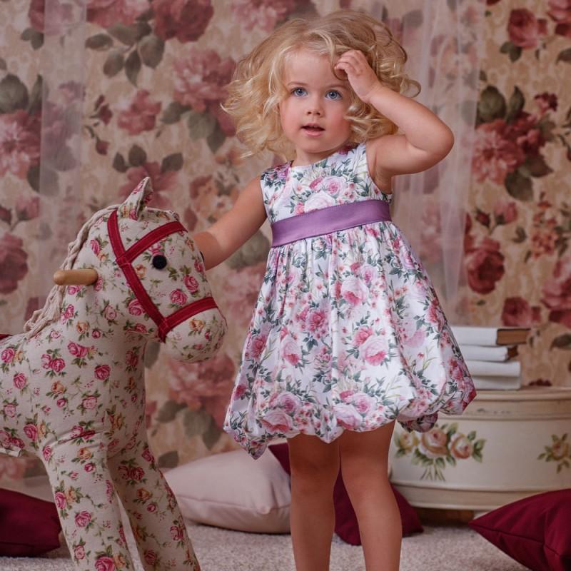 Фото 5. Нарядное платье для девочки Цветочки