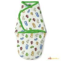 Пеленка-кокон для новорожденного на липучках