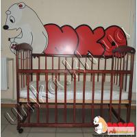 Кроватка из натурального дерева для новорожденного малыша по СУПЕРЦЕНЕ