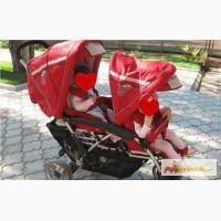 Коляска для двойни и погодок немецкой фирмы Babywelt