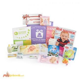 Отличный подарок для будущей мамы коробочка «Вагітна та чарівна» от ТЕДДИ-box