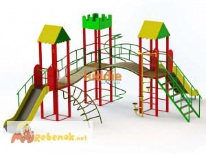 Фото 3. Игровые комплексы и детские площадки от производителя