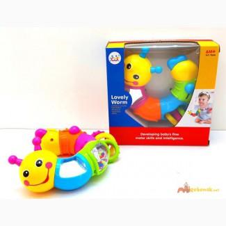 Развивающая игрушка «Веселая гусеница» 786B Huile Toys