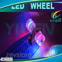 Скейт Пенни (Penny Board) со светящимися колесами: 5 цветов в ассортименте
