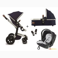 Joolz Geo Mono Earth II 3-in-1 set pram + Kiddy Evolution Pro 2 carrycot
