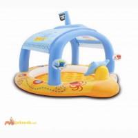 Детский надувной бассейн Маленький Капитан