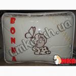 Постельное белье в кроватку малыша с вышивкой + держатель для балдахина