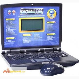 Детский обучающий ноутбук 7160 с цветным экраном Joy Toy