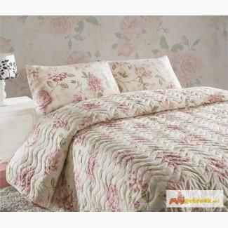 Купить покрывало на двуспальную кровать, Eponj Home Care розовое 200 220