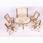 Гостиная мебель для кукол из дерева лазерная резка собственное производство