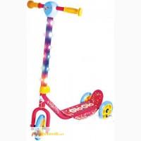 Детский скутер-самокат Glo Glo Hy-pro со светом синий
