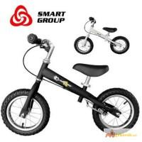 Беговел Smart Golden надувные колеса