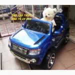 Детский электромобиль FORD RANGER F-150 синий авто покраска