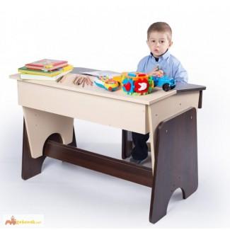 Письменный стол и стул детский Соня двухцветный