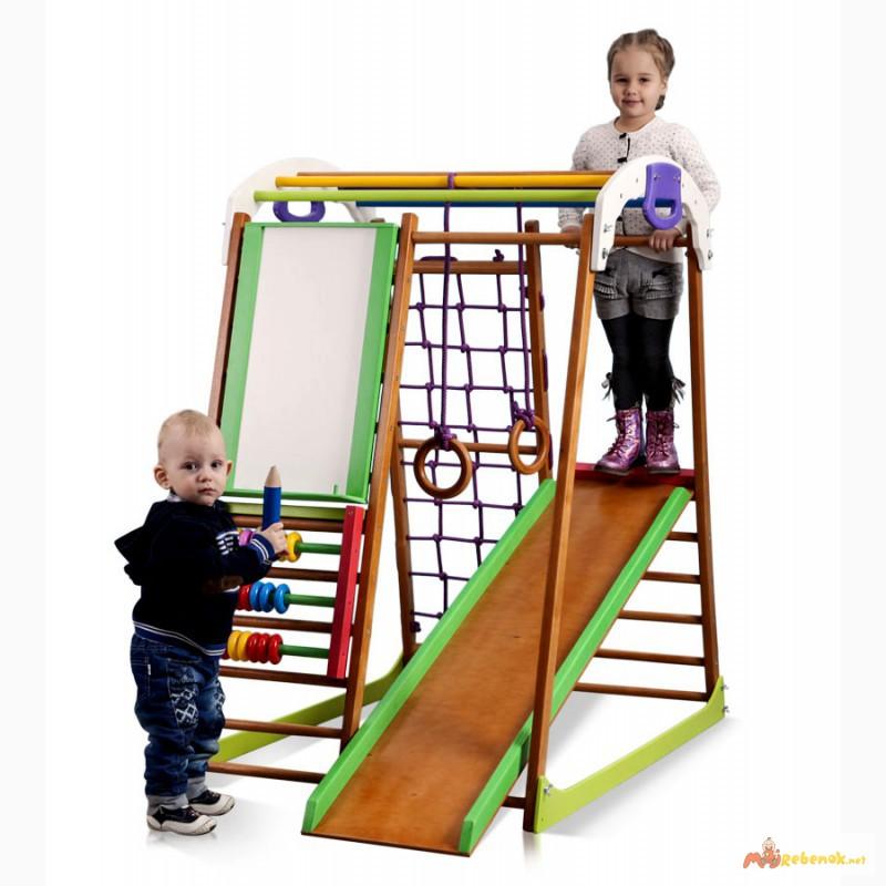 Детский спортивный комплекс, уголок BabyWood Plus