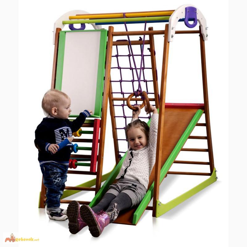 Фото 3. Детский спортивный комплекс, уголок BabyWood Plus