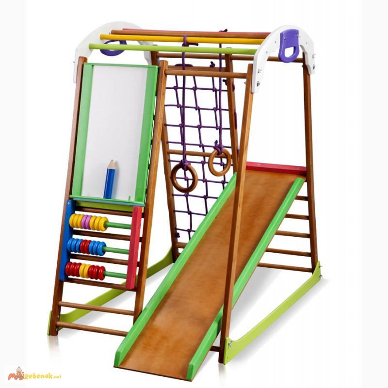 Фото 4. Детский спортивный комплекс, уголок BabyWood Plus