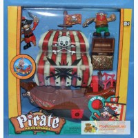 Игровой набор Пиратский корабль K10754 Keenway