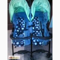 Продам прогулочную коляску-трость для двойни