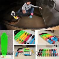 Скейтборд Пенни (Penny Board) со светящимися колесами: 5 цветов в ассортименте